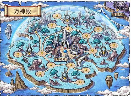 冒险岛万神殿怎么去金银岛图片