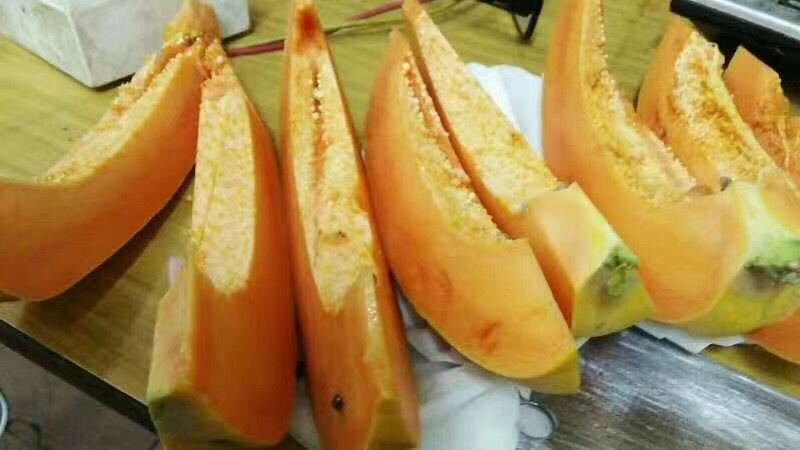 木瓜青的能放黄吗